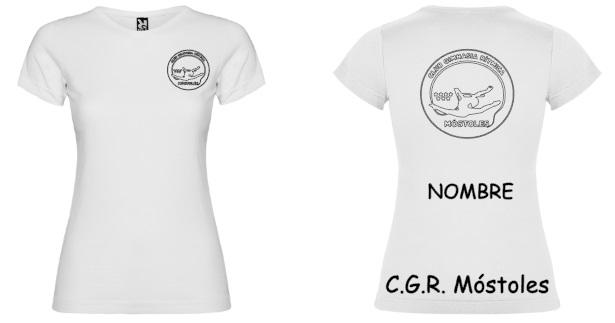 Camiseta Blanca Niña - 8.50€ Mujer-9,50€