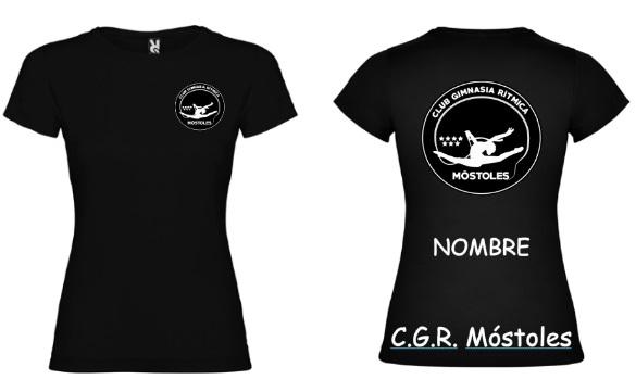 Camiseta Negra  Niña - 8,50€ Mujer-9,50€
