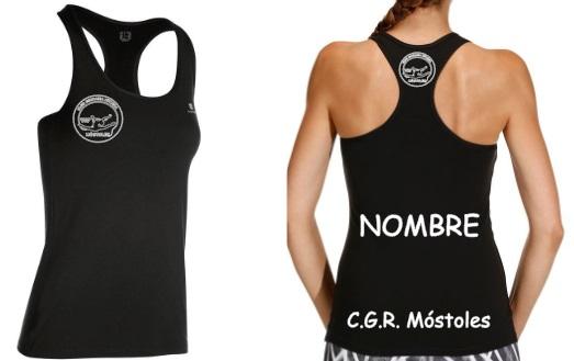 Camiseta Tirantes Negro-9,50€